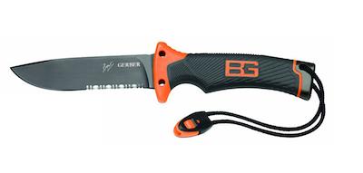 Bear Grylls Gerber Camping Knife