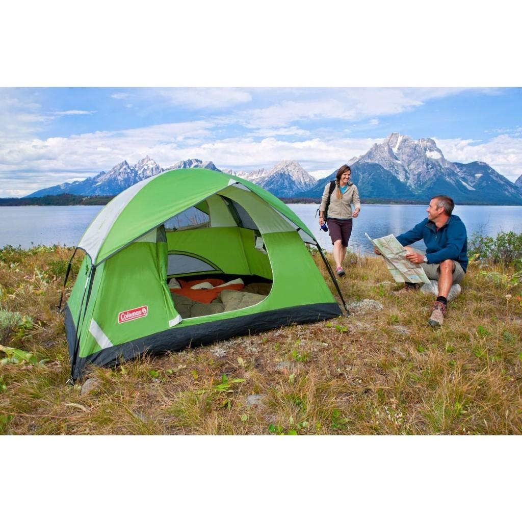 2 man coleman tent