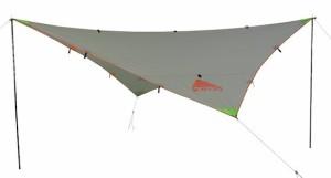 a frame tarp shelter