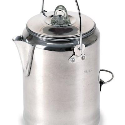 Stansport Outdoor 277 9 Cup Aluminum Camper-Feets Percolator Coffee Pot